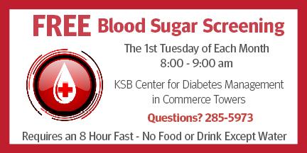 free blood sugar test