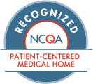 Recognized patient-centered medical home badge